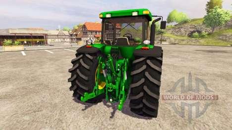 John Deere 8320 v2.0 for Farming Simulator 2013
