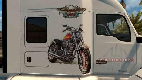 Kenworth T680 Harley Davidson Skin for American Truck Simulator