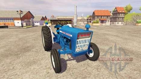 Ford 3000 for Farming Simulator 2013
