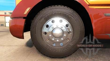 Real tires for American Truck Simulator