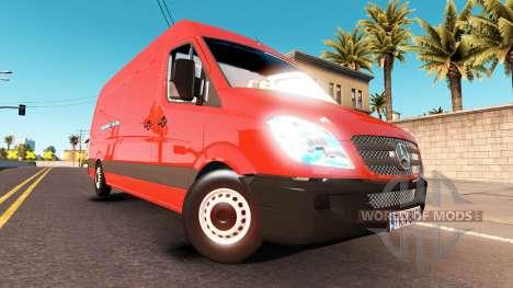 Mercedes-Benz Sprinter LWB for American Truck Simulator