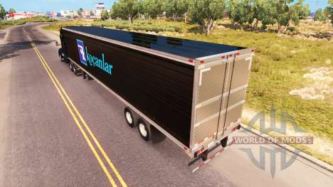 Skin Kocanlar on a Kenworth tractor for American Truck Simulator