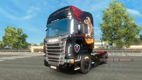 Skin for Scania truck Scania for Euro Truck Simulator 2