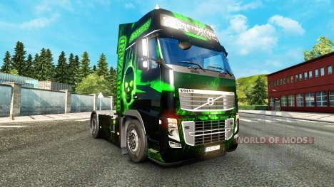 Biohazard skin for Volvo truck for Euro Truck Simulator 2