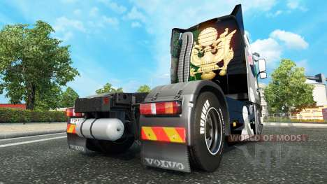 Skin us Army Snow on a Volvo truck for Euro Truck Simulator 2