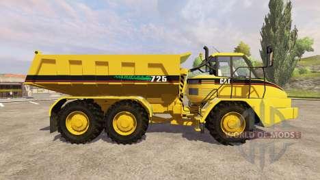 Caterpillar 725 v1.5 for Farming Simulator 2013