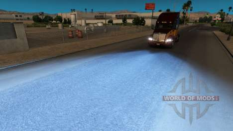 Blue light for American Truck Simulator