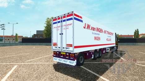 Semi J. W. van Ingen for Euro Truck Simulator 2
