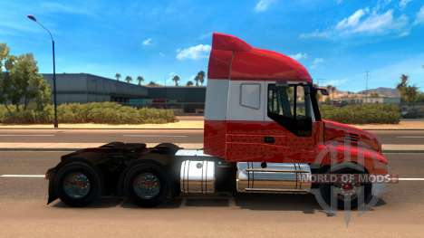 Iveco Strator v2 for American Truck Simulator