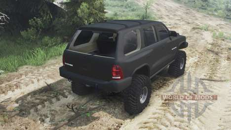 Dodge Durango 1998 [25.12.15] for Spin Tires