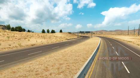 Color correction for American Truck Simulator