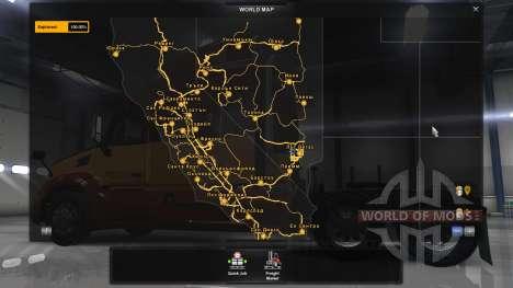 Bulgarian city names for American Truck Simulator