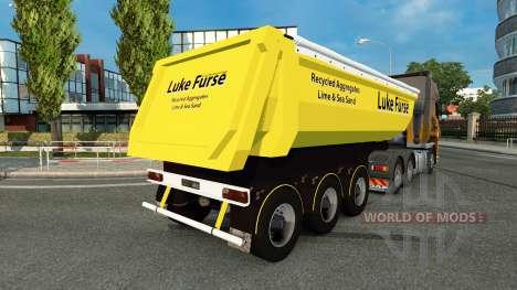 Luke Furse skin for trailer for Euro Truck Simulator 2