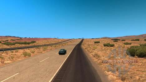 Reduced traffic density for American Truck Simulator