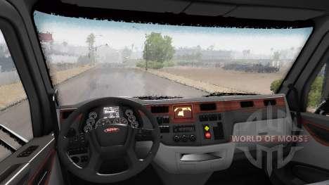 Rain effect v1.7.4 for American Truck Simulator