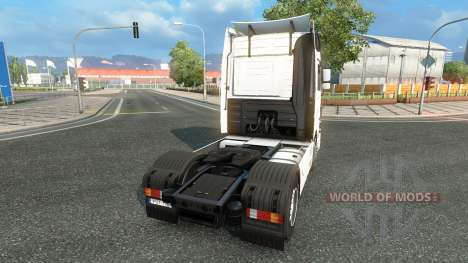 Skin Klaus Bosselmann on the tractor unit Merced for Euro Truck Simulator 2