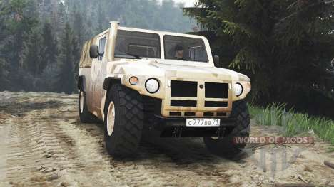 GAZ-233002 [25.12.15] for Spin Tires