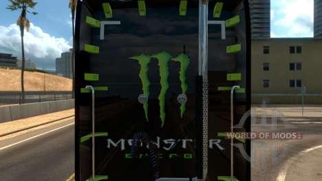 Kenworth T680 Monster Energy for American Truck Simulator