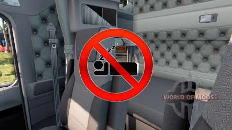 Disable sleep for American Truck Simulator