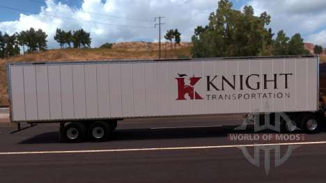 Knight Trailer for American Truck Simulator