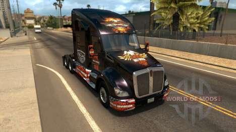 T680 Harley Davidson skin for American Truck Simulator