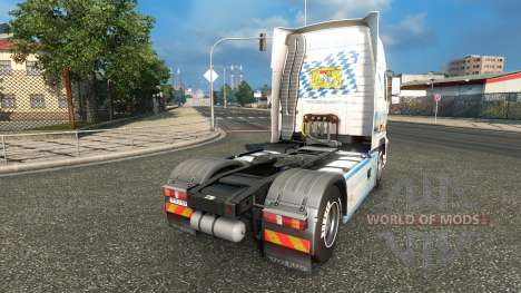 Bavaria Express skin for Volvo truck for Euro Truck Simulator 2
