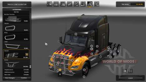 Tuning of ETS 2 for American Truck Simulator