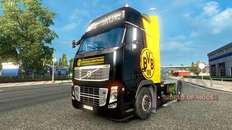 BvB skin for Volvo truck for Euro Truck Simulator 2
