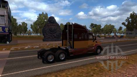 Map Of China for American Truck Simulator
