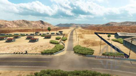 Roads Northern Nevada for American Truck Simulator