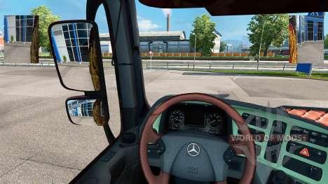 Small mirrors for Euro Truck Simulator 2