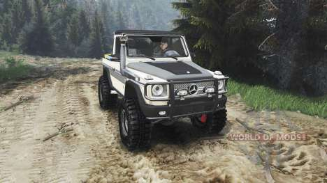Mercedes-Benz G320 CDi [25.12.15] for Spin Tires