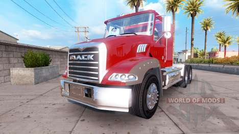 Mack Granite for American Truck Simulator