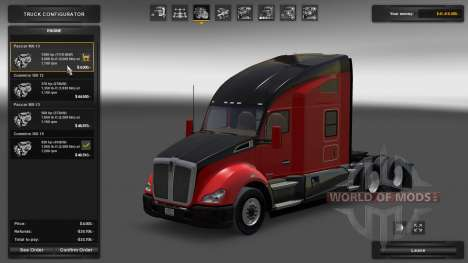 Kenworth T680 1500 HP Engine for American Truck Simulator