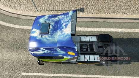Gasunie Transport skin for Scania truck for Euro Truck Simulator 2
