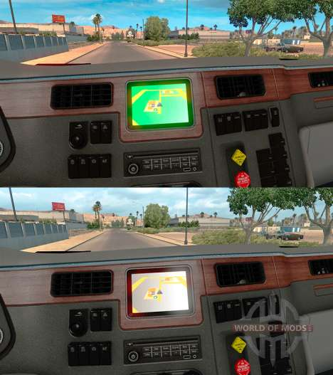 Colored backgrounds Navigator for American Truck Simulator