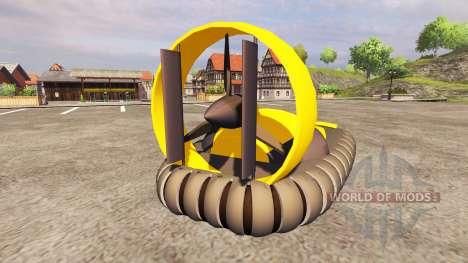 The hovercraft for Farming Simulator 2013