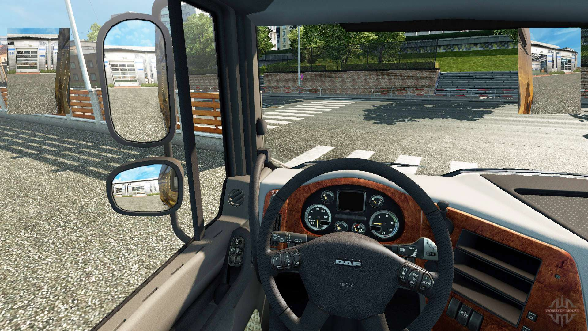 small mirrors for euro truck simulator 2. Black Bedroom Furniture Sets. Home Design Ideas