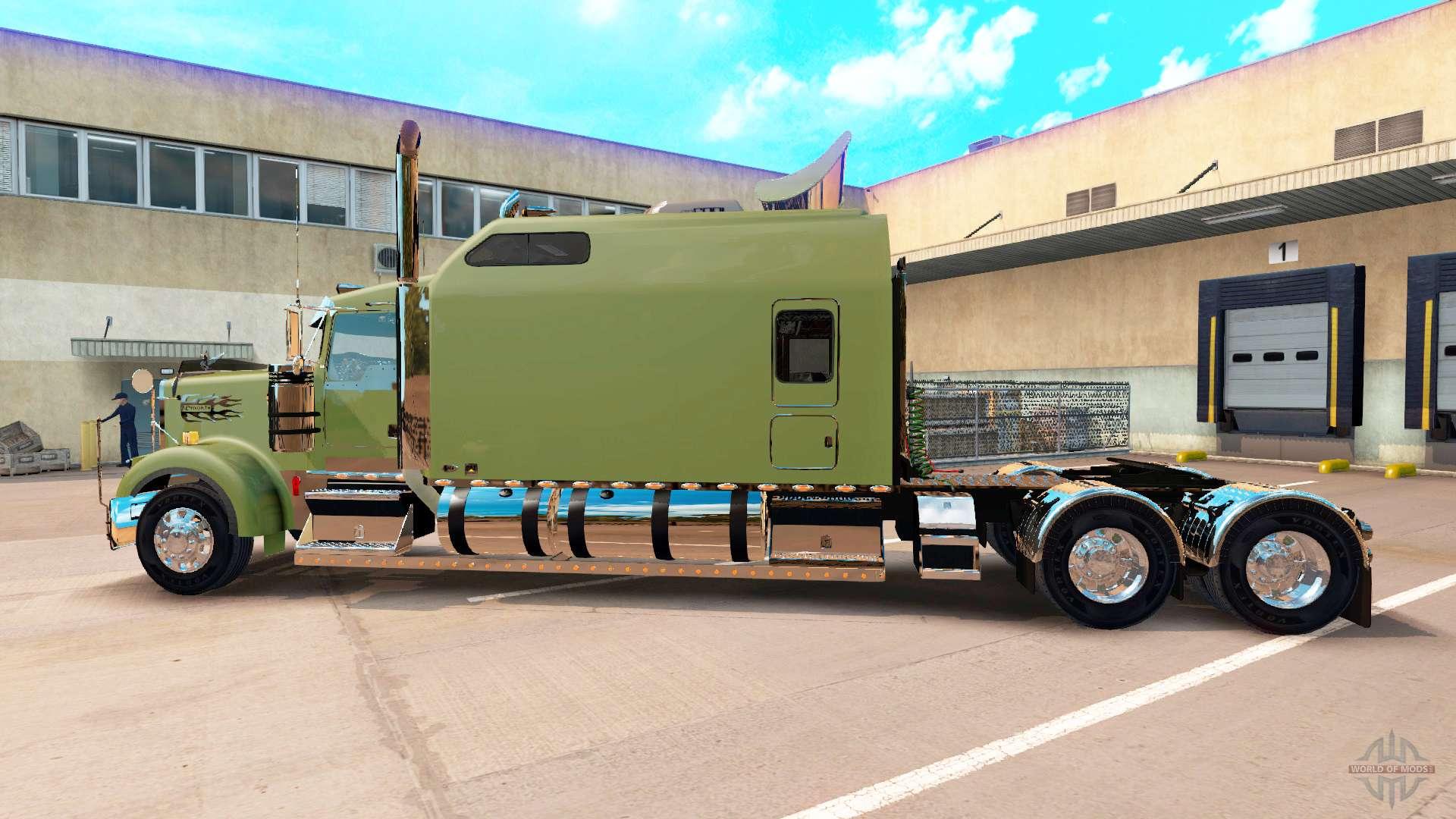 Kenworth W900b Long Ari Legacy Sleepers For American Truck