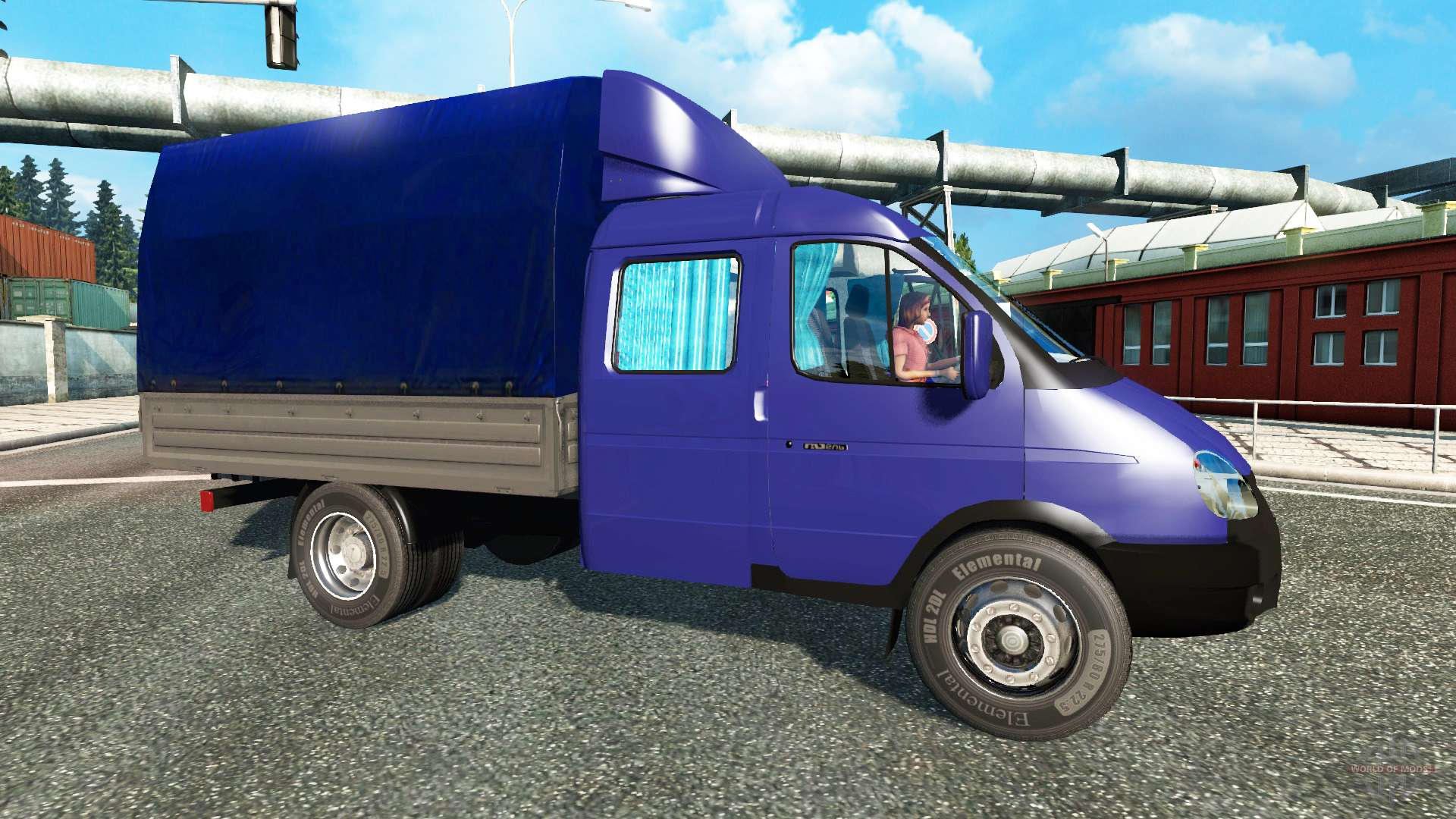 GAZ 3302 - technical specifications and machine overview 10