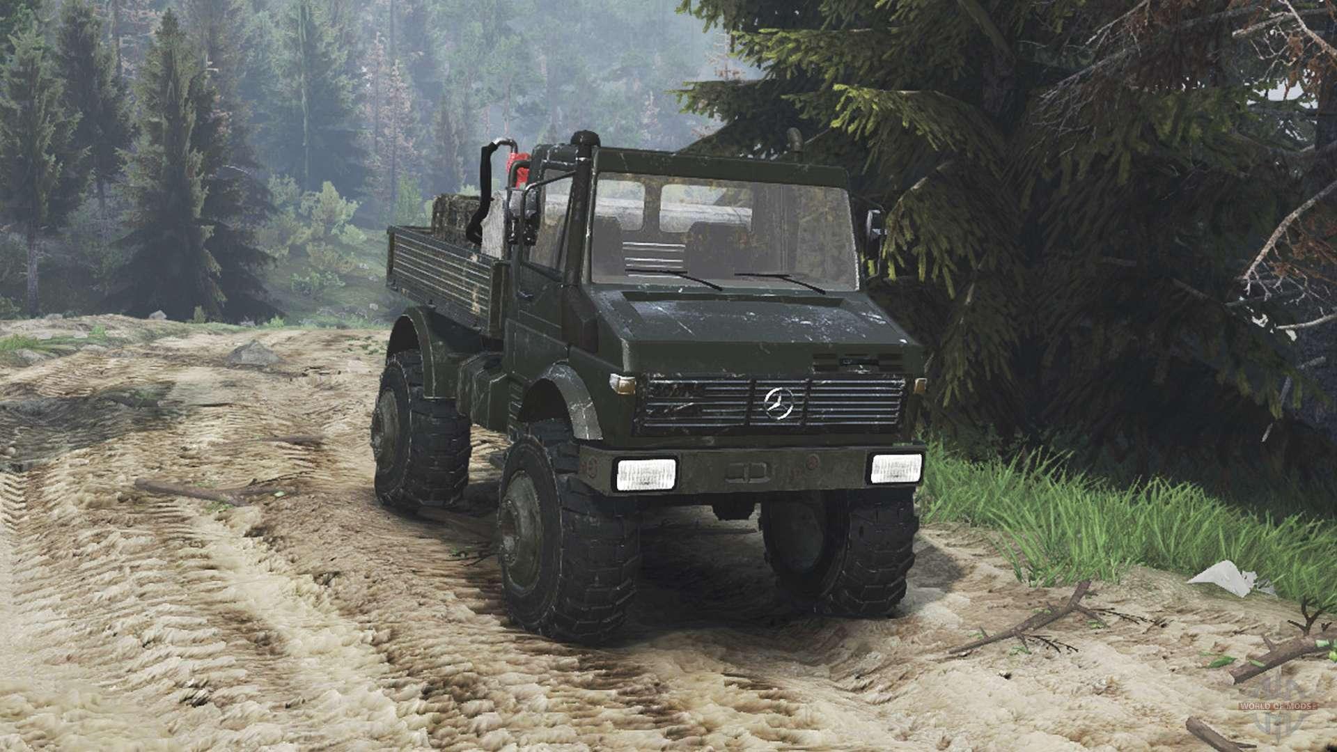 Mercedes Benz Unimog U1650 16 12 15 For Spin Tires