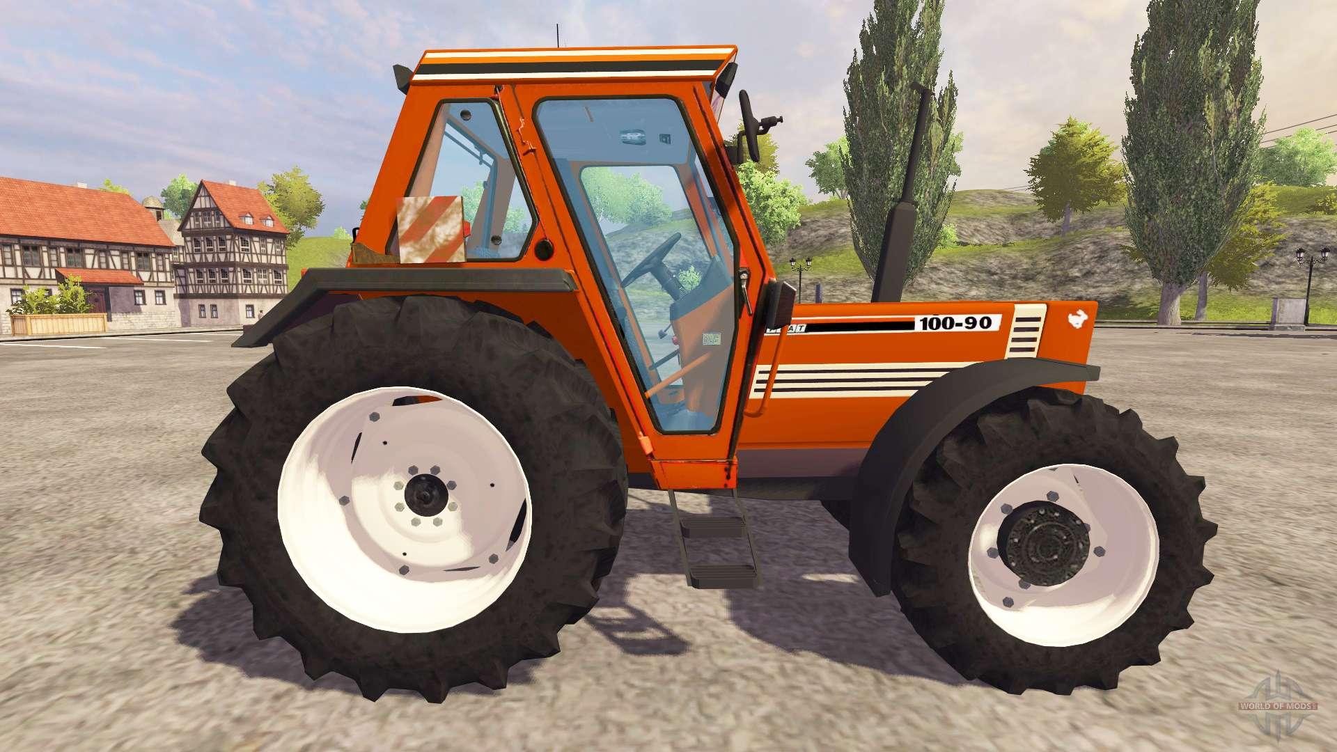 Fiat 100 90 Tractor : Fiat for farming simulator