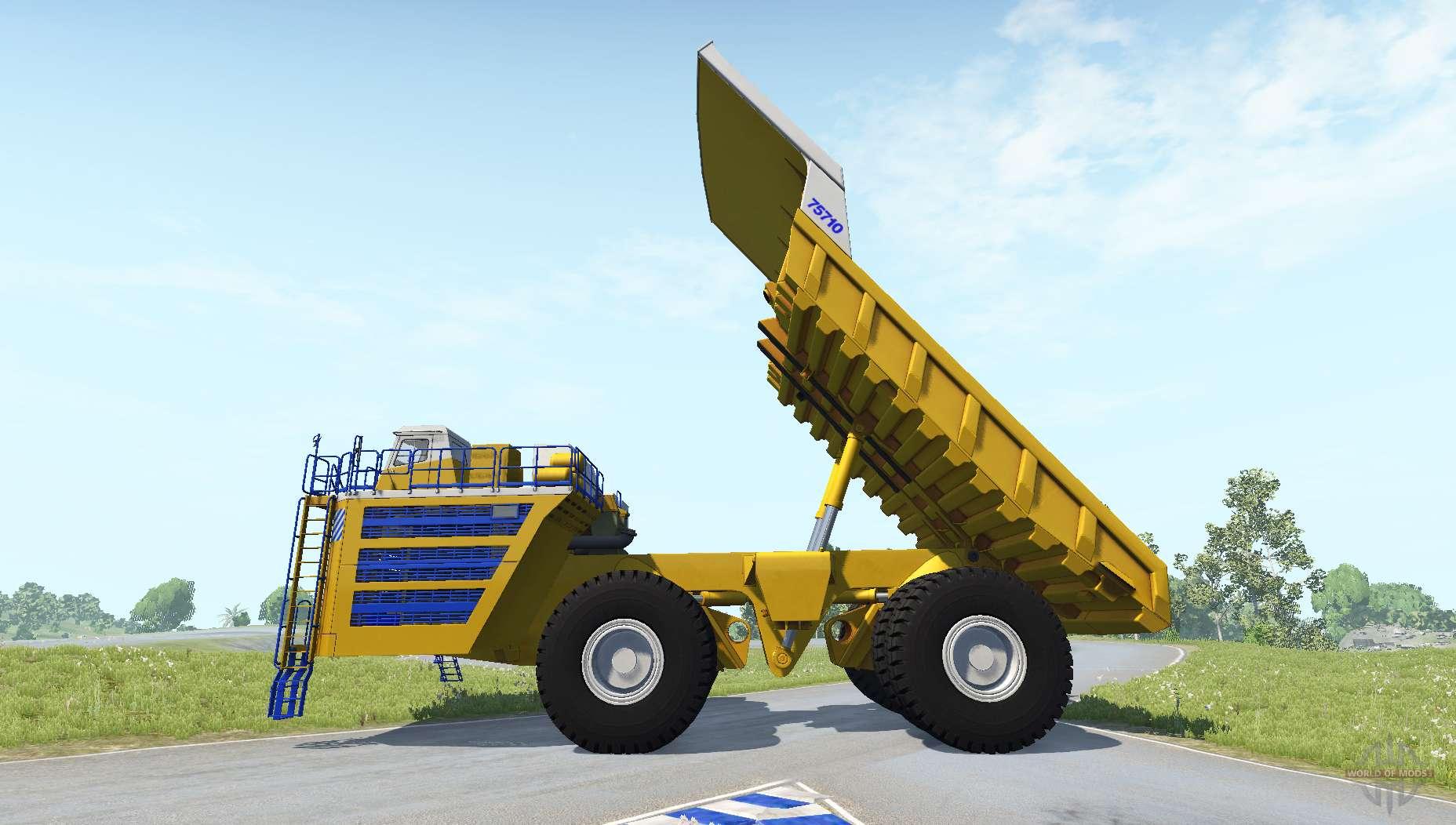 BelAZ-75710 for BeamNG Drive