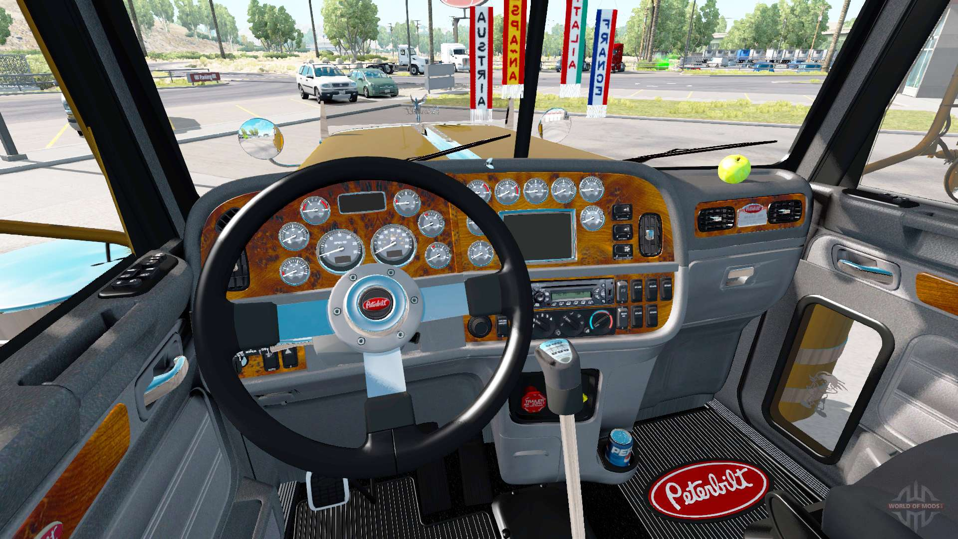 Peterbilt 389 v2 11 for American Truck Simulator