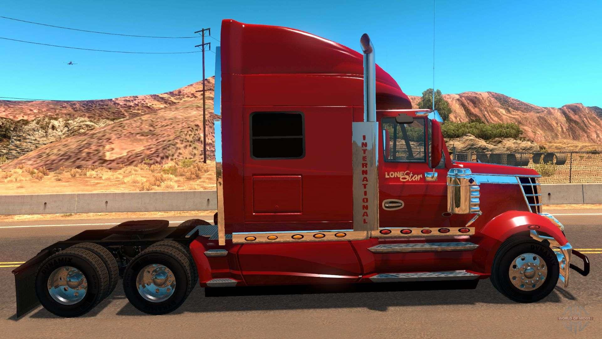 International Lonestar v2.0 for American Truck Simulator
