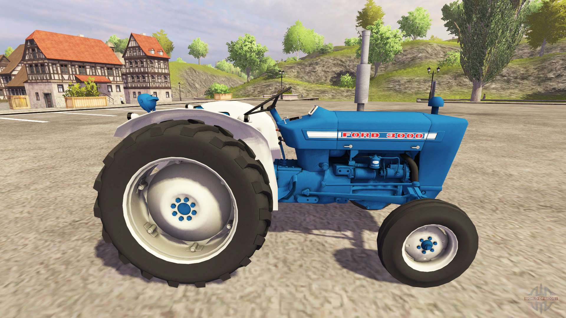 69 Ford 3000 Tractor : Ford for farming simulator