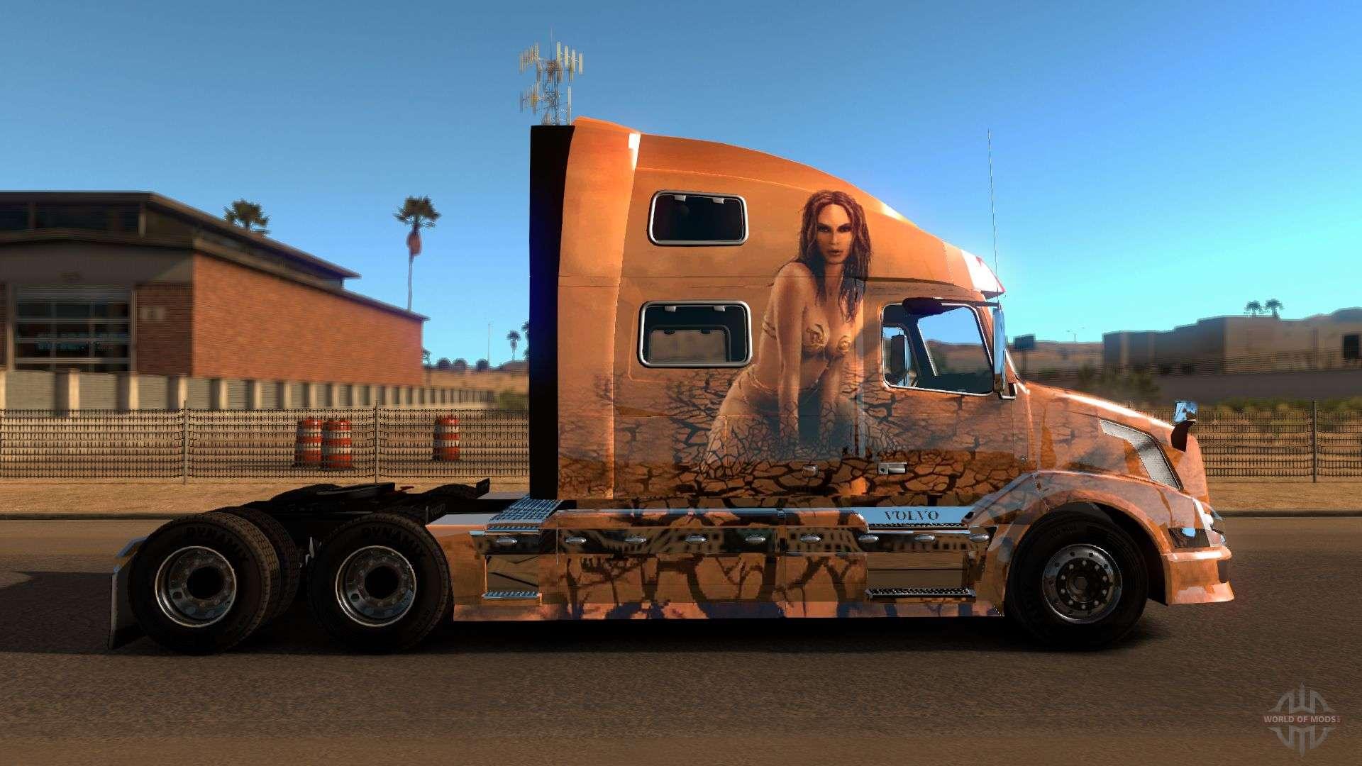 13341 Volvo Vnl 780 V on Tractor Truck
