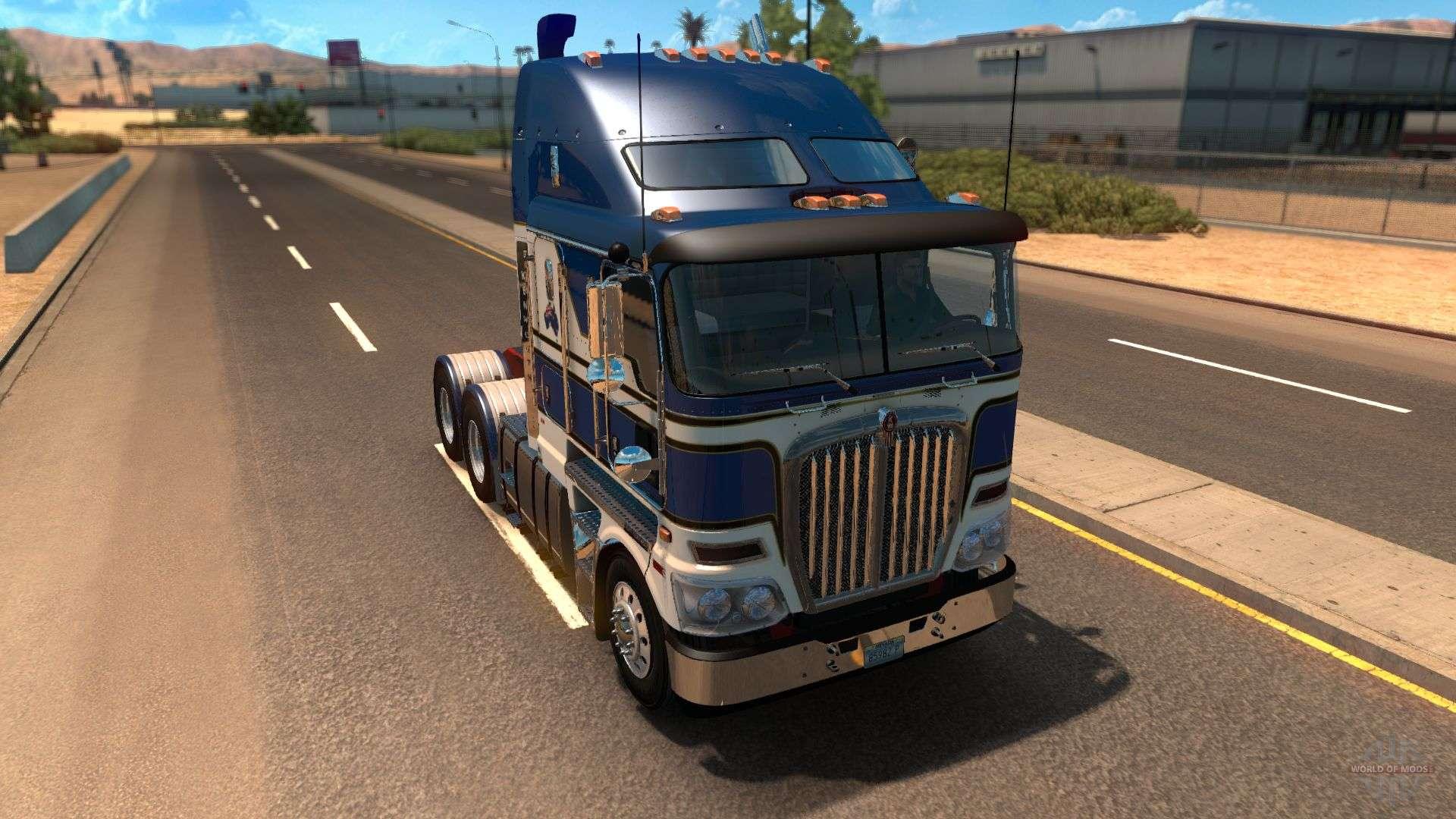 Rta Kenworth K200 For American Truck Simulator