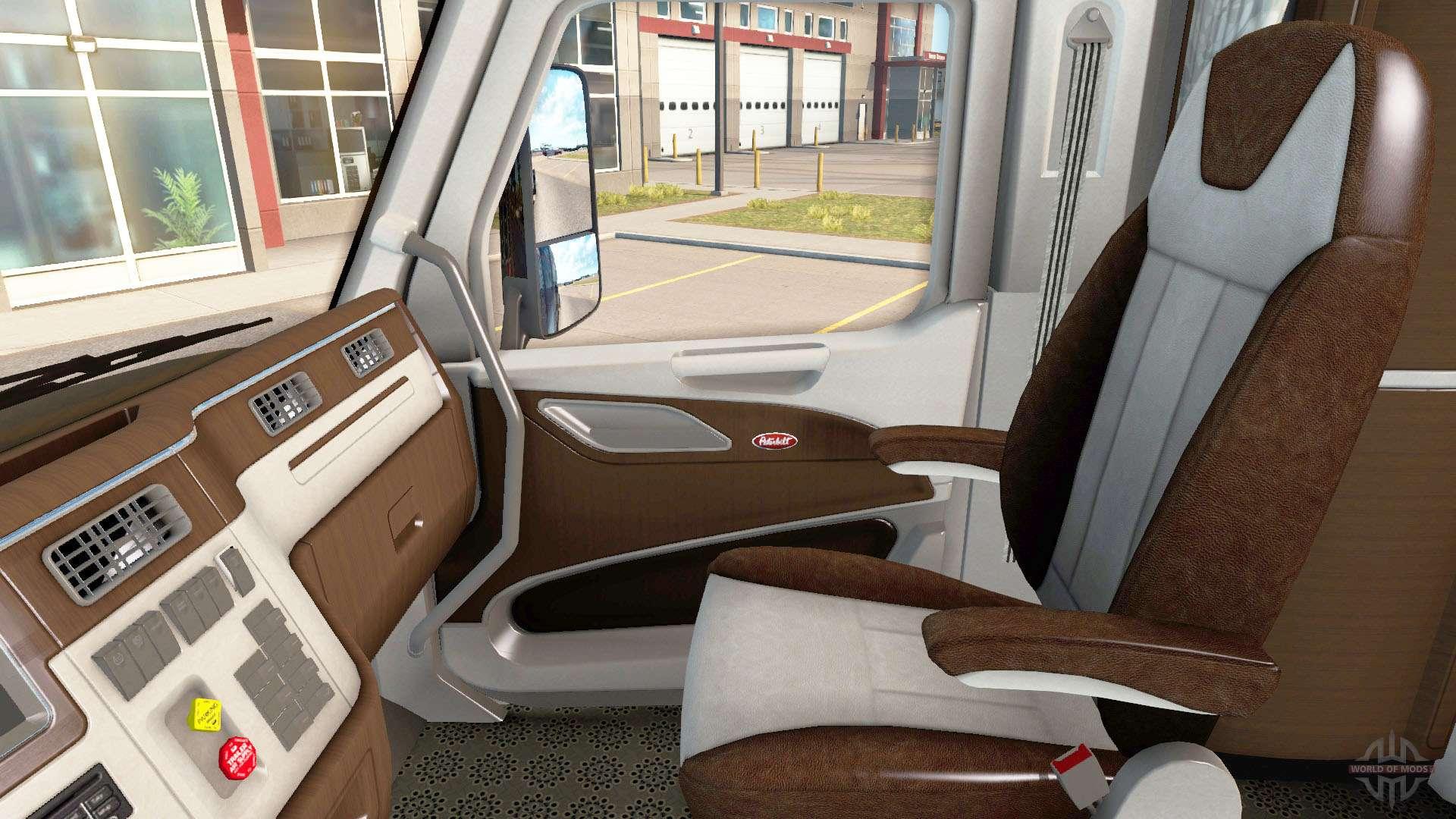 2017 Peterbilt 579 >> The new color Peterbilt 579 interior for American Truck Simulator