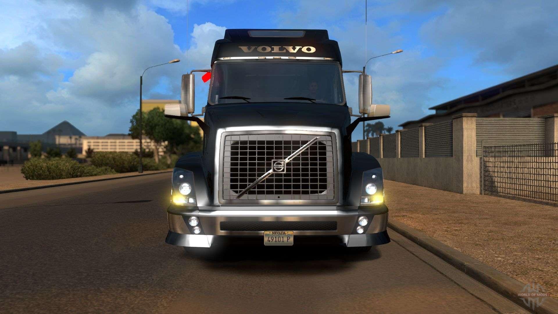 volvo vnl for american truck simulator. Black Bedroom Furniture Sets. Home Design Ideas